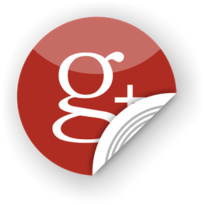 Picture of NFC Sticker 35mm with Google+ logo