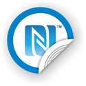 Picture of NFC sticker 50mm with N-Mark symbol