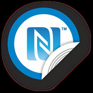 Obrázok pre výrobcu NFC sticker 50mm with N-Mark symbol