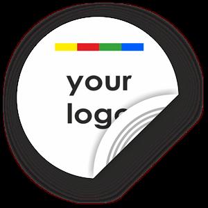 Obrázok pre výrobcu Custom Logo Round Sticker