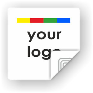 Picture of Custom Logo Square Sticker