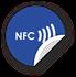 Obrázok pre výrobcu NFC sticker 35mm with text, more colors