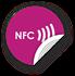 Obrázok pre výrobcu NFC sticker 50mm with text, more colors