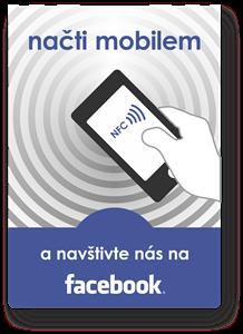 Obrázok pre výrobcu Smart Poster Blue Facebook