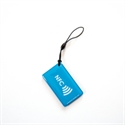 Picture of Hang tag with NFC logo Rectangle shape Blue