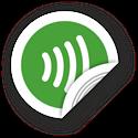Obrázek NFC štítek 50mm symbol vln, více barev