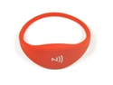 Obrázok pre výrobcu Pohodlný a univerzálny silikónový NFC náramok - Červený
