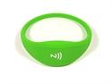 Obrázok pre výrobcu Pohodlný a univerzálny silikónový NFC náramok - Zelený