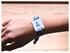 Obrázok pre výrobcu Kvalitný textilný jednorazový NFC náramok - Čierny VIP