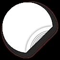 Obrázek Bílý NFC štítek, 25mm, NTAG213
