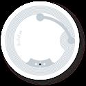 Obrázok pre výrobcu Transparent NFC Sticker, 38mm, NTAG213