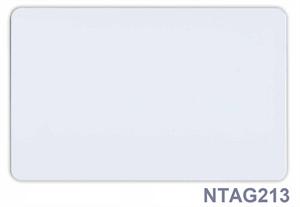 Obrázok pre výrobcu NFC card NTAG213